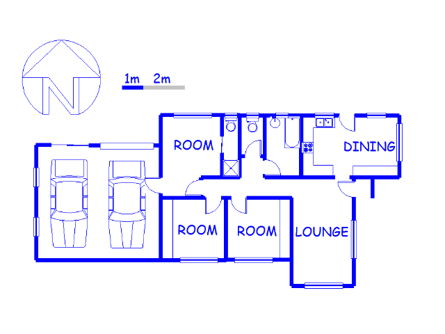 Floor plan of the property in Welbedacht