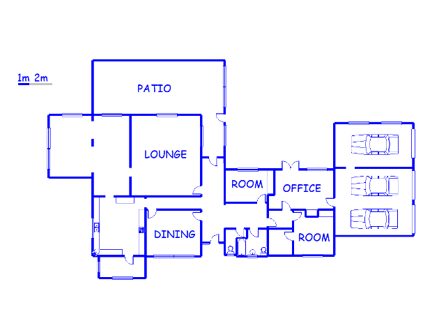 Floor plan of the property in Eshowe