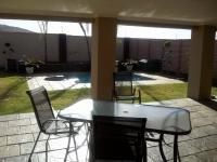 Patio of property in Rustenburg