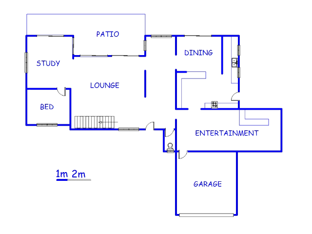 Floor plan of the property in Lynnwood Glen