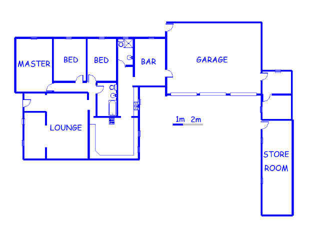 Floor plan of the property in Primrose Hill