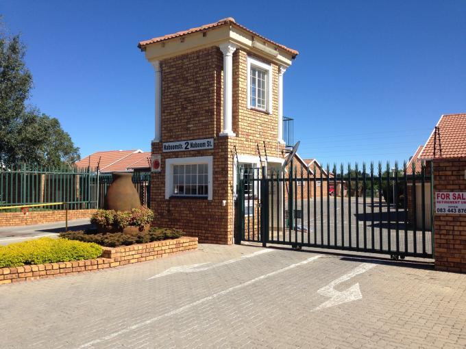 Absa Bank Trust Property 2 Bedroom Retirement Home For Sale in Roodepoort - MR107716