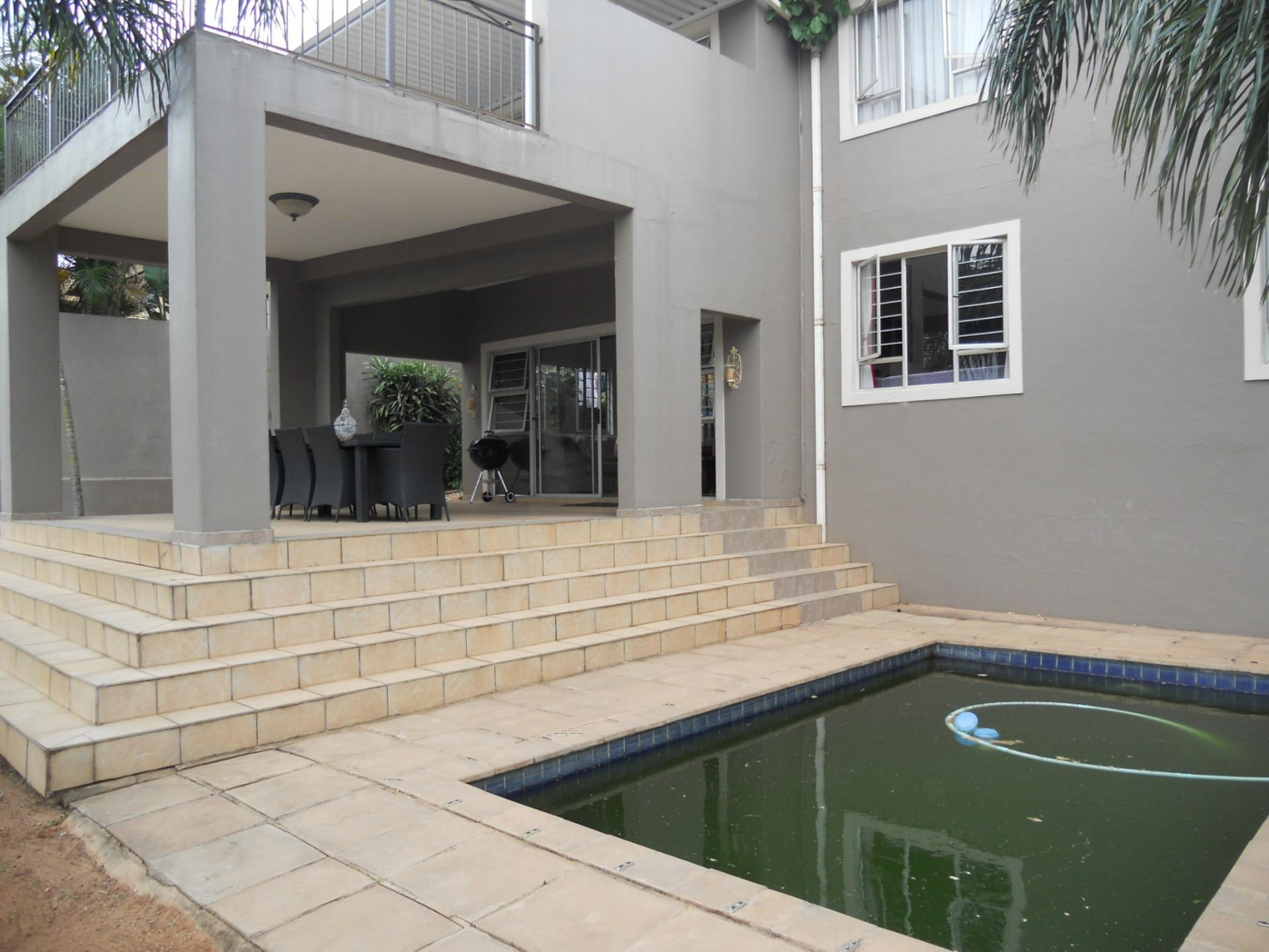 Backyard of property in Sunningdale - DBN