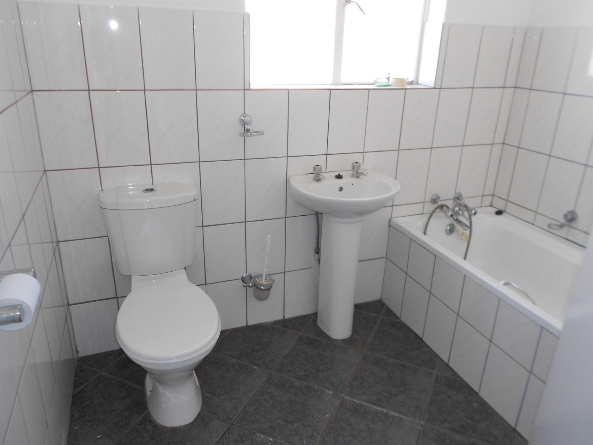 Main Bathroom of property in Rensburg