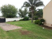 Backyard of property in Bloubosrand
