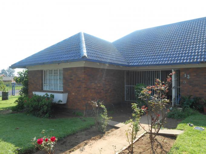 Absa Bank Trust Property 3 Bedroom House for Sale For Sale in Komati - MR108453