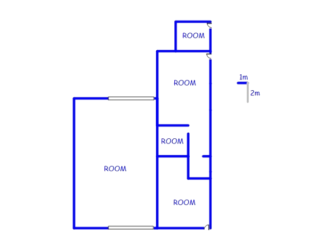 Floor plan of the property in Mont Lorraine AH