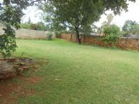 Backyard of property in The Orchards