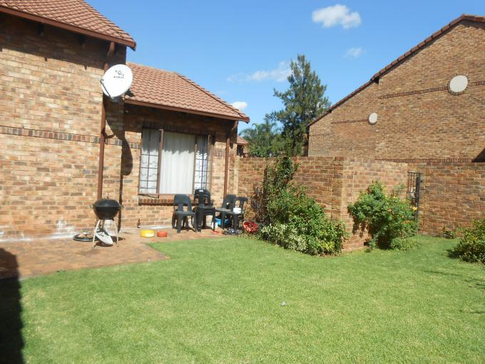 3 Bedroom Duplex for Sale For Sale in Highveld - Home Sell - MR109119