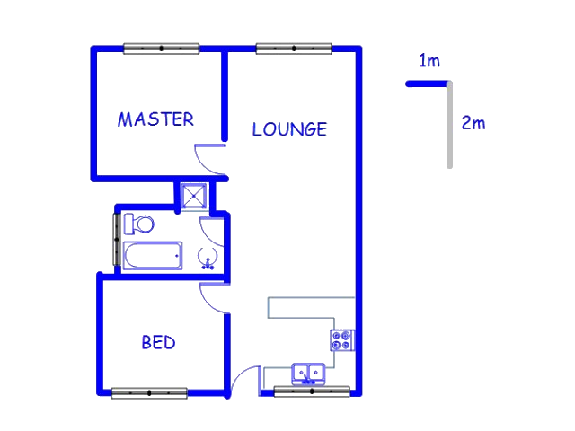 Floor plan of the property in Rembrandt Park