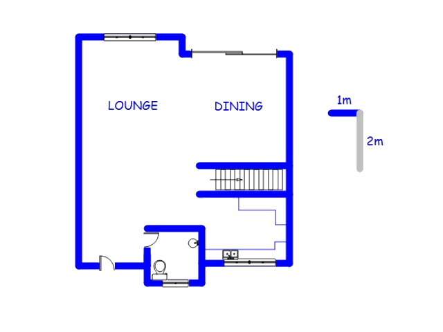 Floor plan of the property in Wonderboom