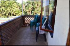 Balcony of property in Umtentweni