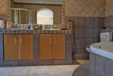 Main Bathroom - 10 square meters of property in Woodhill Estate