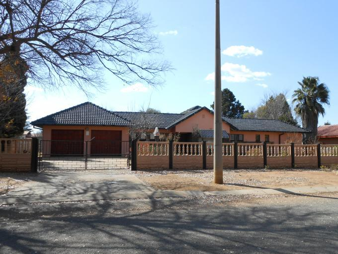 Standard Bank EasySell 3 Bedroom House for Sale For Sale in Klerksdorp - MR110810