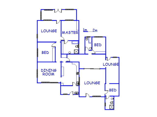Floor plan of the property in Margate
