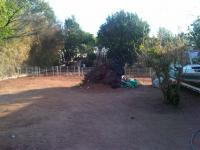 Backyard of property in Parys