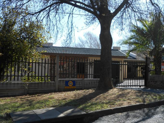 Standard Bank EasySell 4 Bedroom House for Sale For Sale in Sasolburg - MR111263