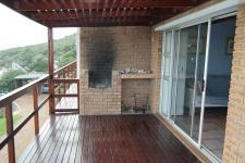 Patio of property in Gordons Bay