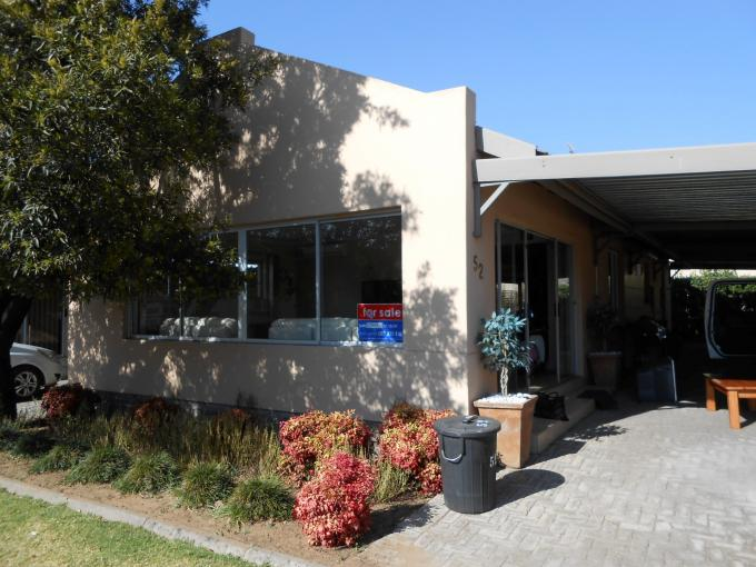 3 Bedroom Sectional Title For Sale in Sasolburg - Private Sale - MR111312