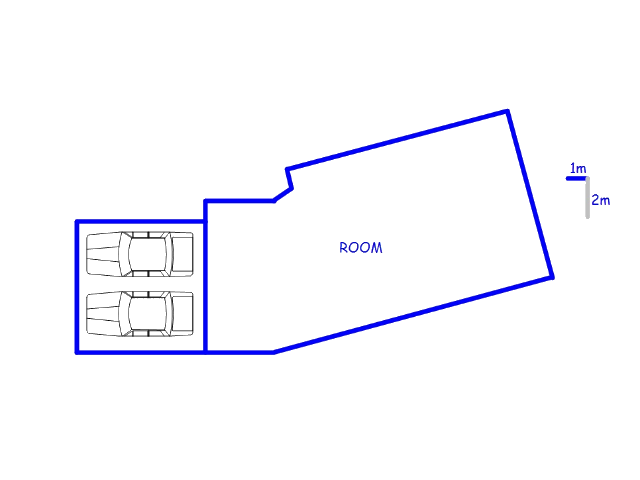 Floor plan of the property in Olifantshoek