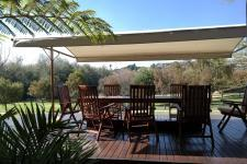 Patio - 187 square meters of property in Woodhill Golf Estate