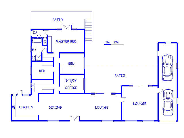 Floor plan of the property in Mangold Park