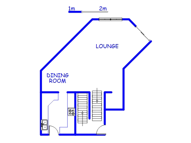 Floor plan of the property in Umhlanga Rocks