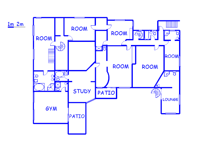 Floor plan of the property in Glenashley