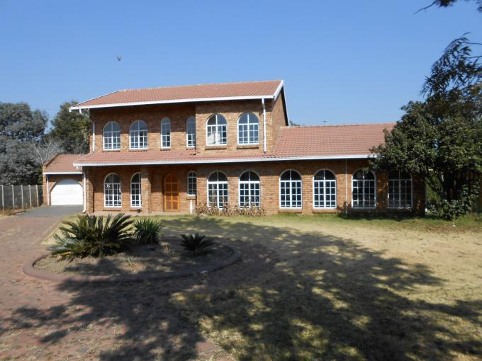 Standard Bank EasySell 6 Bedroom House For Sale in Dalpark - MR113330