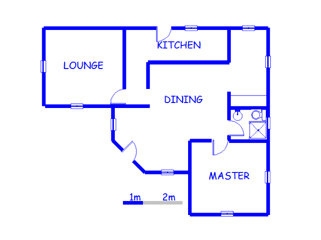 Floor plan of the property in Nigel