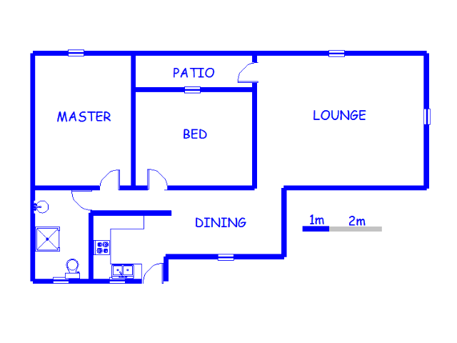 Floor plan of the property in Lambton