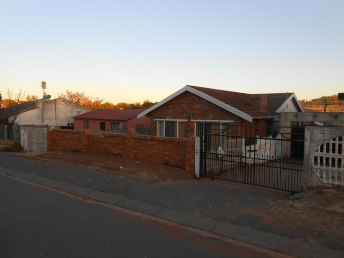 Standard Bank EasySell 2 Bedroom House for Sale For Sale in Riverlea - JHB - MR114591
