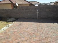 Backyard of property in Naturena