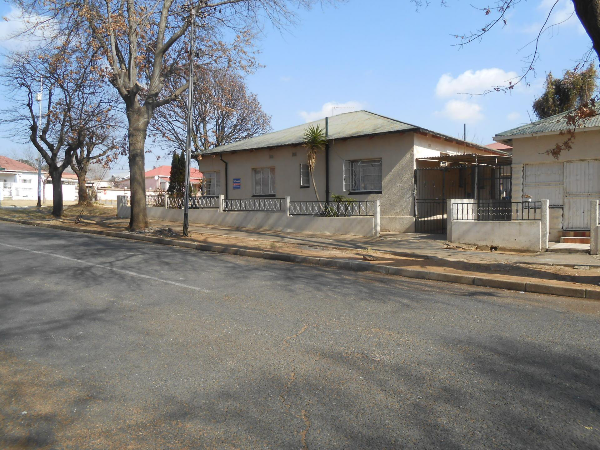 Sales Board of property in Turffontein