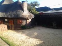 Backyard of property in Brenthurst