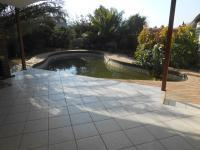Backyard of property in Glenmarais (Glen Marais)