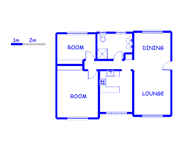Floor plan of the property in Musgrave