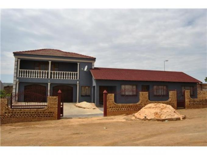 4 Bedroom House for Sale For Sale in Soshanguve - Private Sale - MR115132
