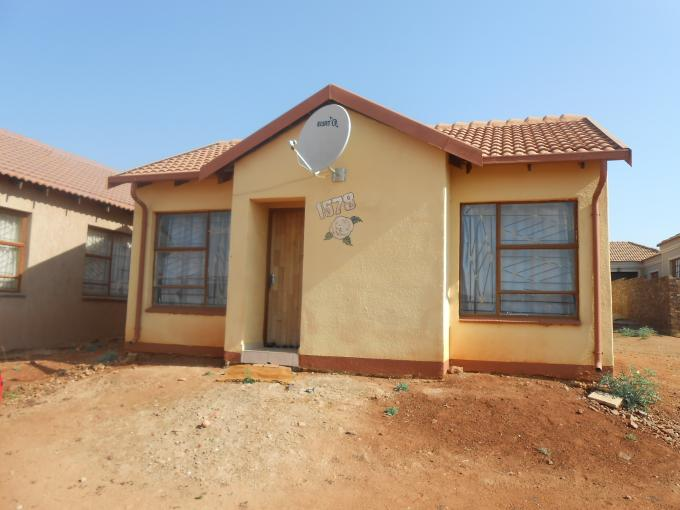 2 Bedroom House for Sale For Sale in Soshanguve - Private Sale - MR115290