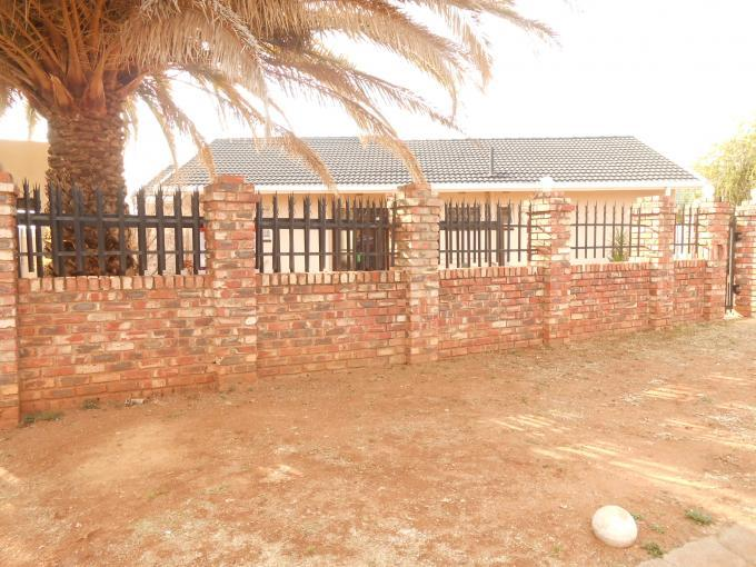 Standard Bank EasySell 3 Bedroom House for Sale in Orkney - MR115577