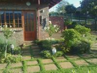 Backyard of property in Sabie