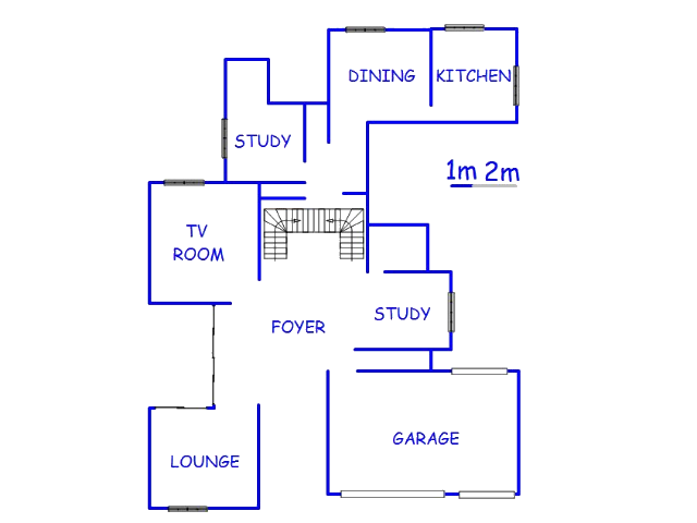 Floor plan of the property in Savannah Country Estate