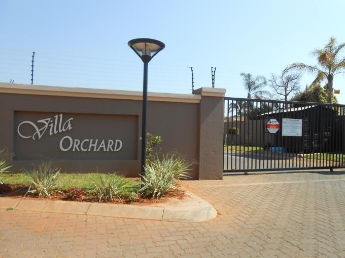 Standard Bank EasySell 2 Bedroom Apartment for Sale For Sale in The Orchards - MR116023