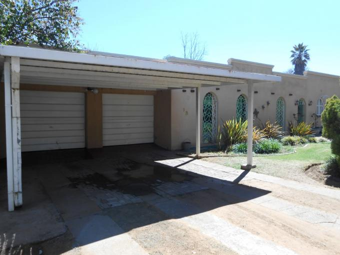 3 Bedroom House For Sale in Parys - Home Sell - MR116058