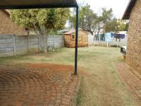 Backyard of property in Theresapark