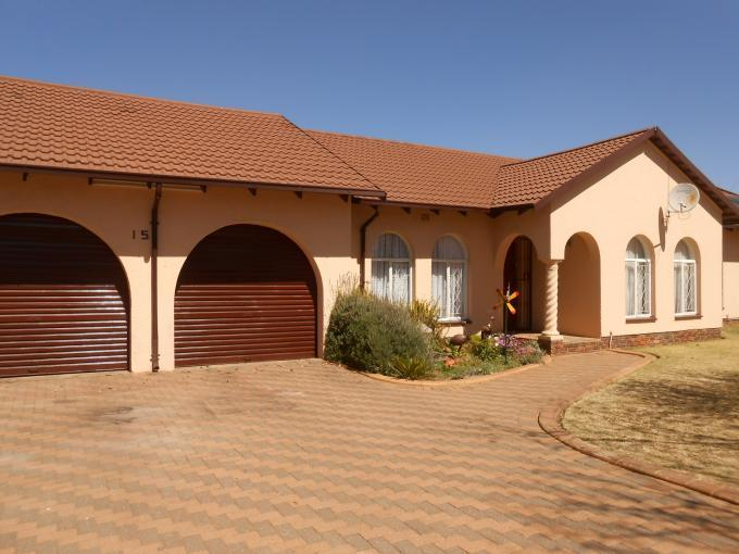 3 Bedroom House for Sale For Sale in Helikon Park - Home Sell - MR116326