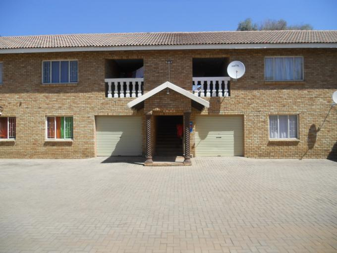 3 Bedroom Apartment for Sale For Sale in Rustenburg - Home Sell - MR116569