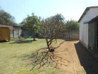 Backyard of property in Bela-Bela (Warmbad)