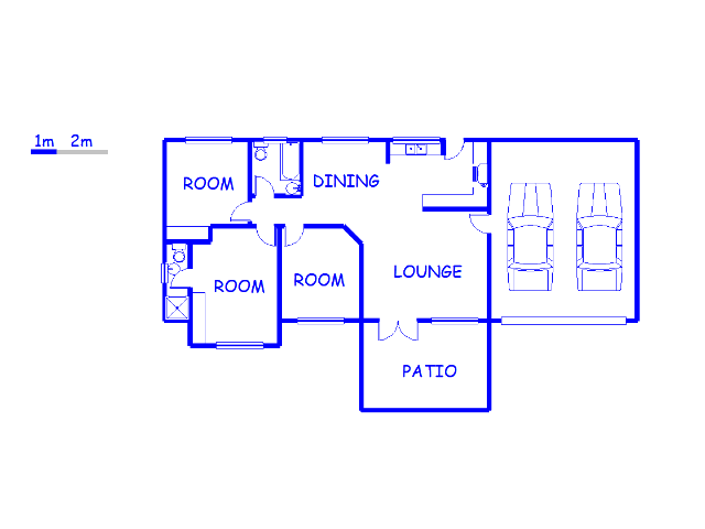 Floor plan of the property in Crestholme