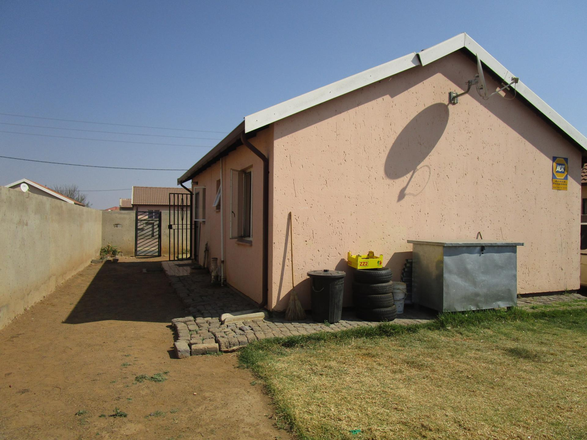 Backyard of property in Sebokeng